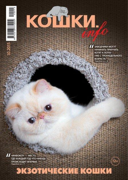 """журнал о кошках """"Кошки.Info"""""""